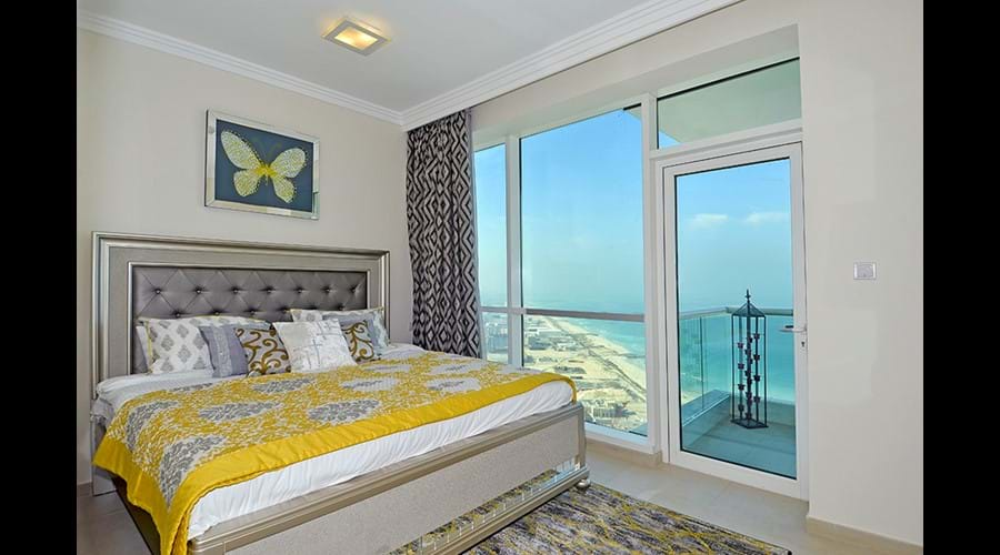 """""""Bedroom 2 with full sea views! Enjoy a restful night"""