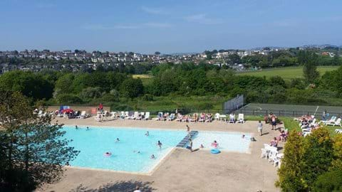 Hoburne Caravan Park outdoor Pool