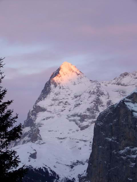 The mighty Eiger