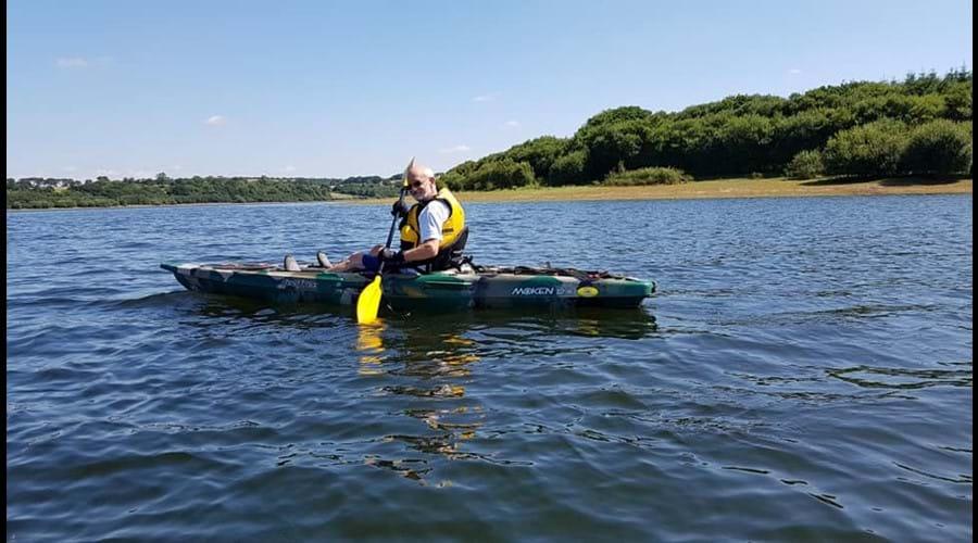 Kayaking at Roadford lake-30 mins drive