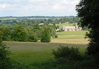 Audley End House, a short walk away