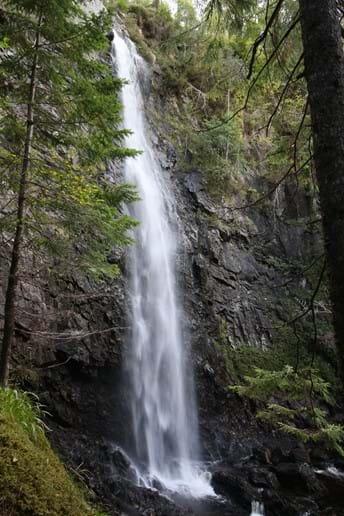 Plodda Falls with viewing platform