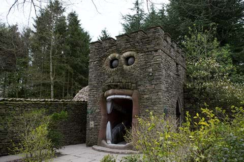 The Forbidden Corner - a must see modern folly, half an hour from the house