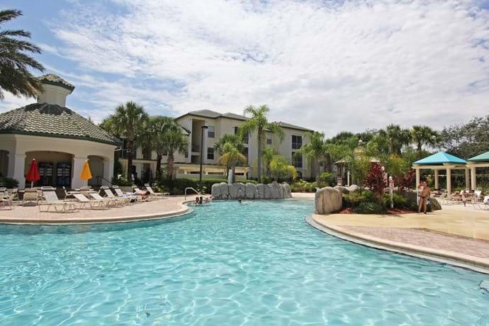 Solar heated Tropical Pool