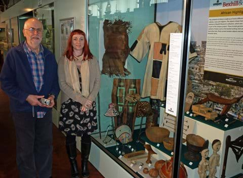 UNIQUES project display at Bexhill Museum