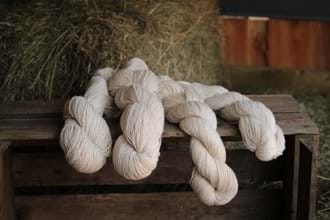 Our lovely alpaca yarn