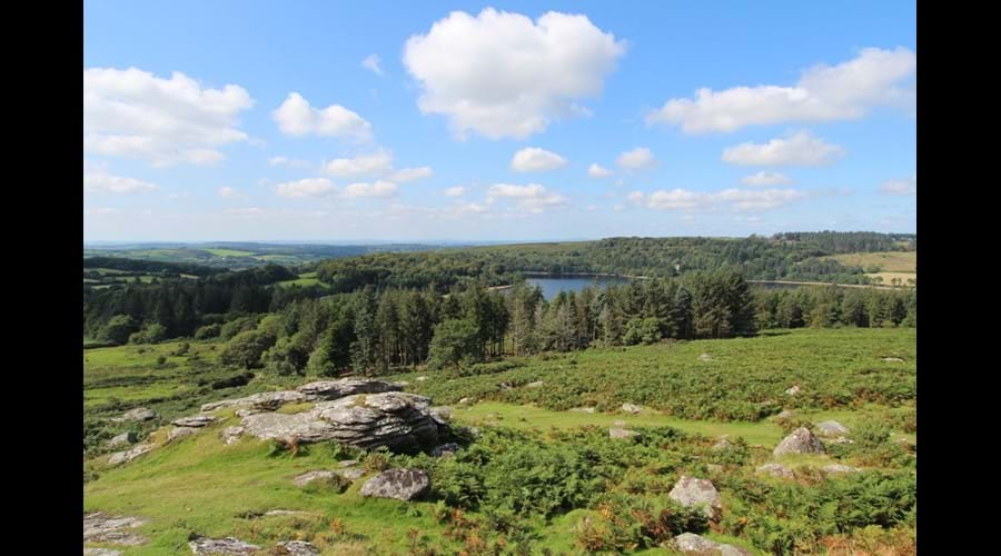 Walk up to Sheepstor for a lovely view of Burrator Reservoir