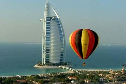 """"""" Hot air ballooning give it a try"""""""
