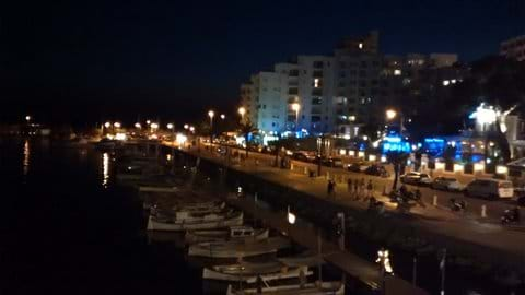 View from the Nautico Club roof bar