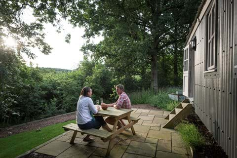 shepherds huts, essex, glamping breaks