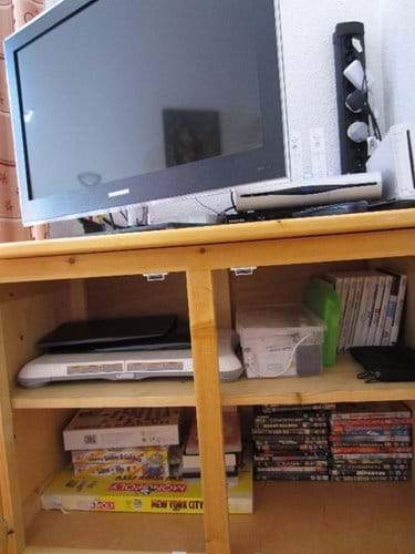 Selection of board games, wii games and DVD movies