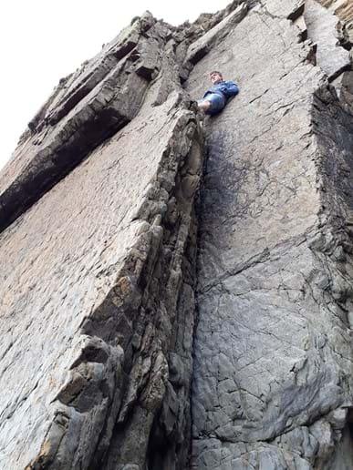 Hanging around at Marloe Sands