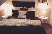 Master Bedroom - King bed that can be split into 2x king single beds
