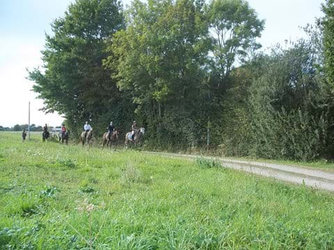 Riding in Sarthe