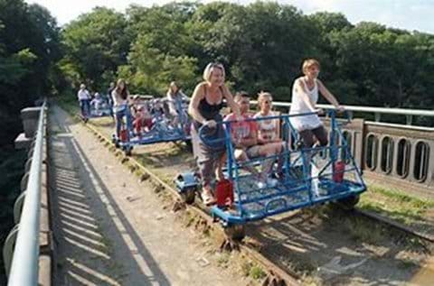 Family Fun - Velo Rail