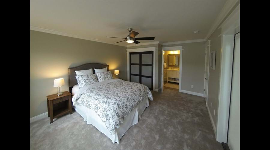 Bedroom 5 has an en-suite bathroom
