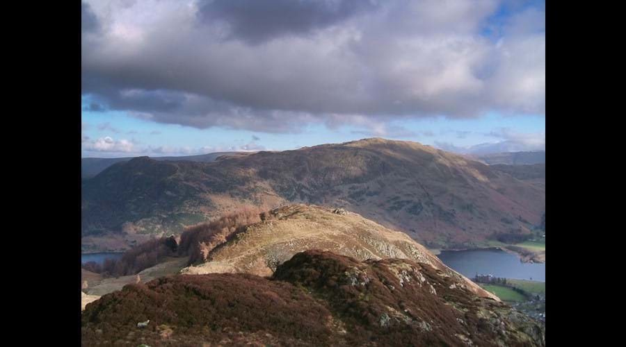 Glenridding Dodd and Place Fell from Sheffield Pike