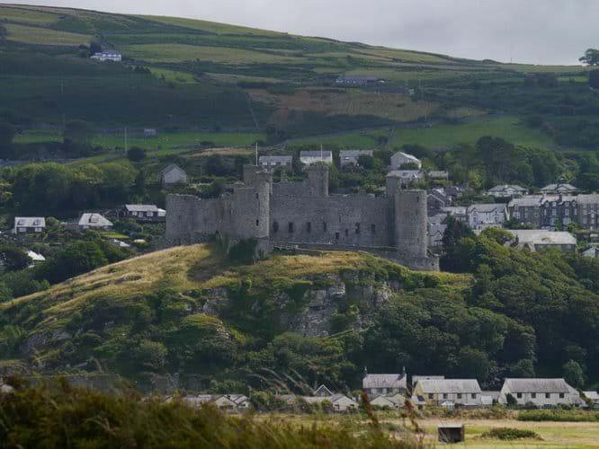 Harlech Castle - T Marshall