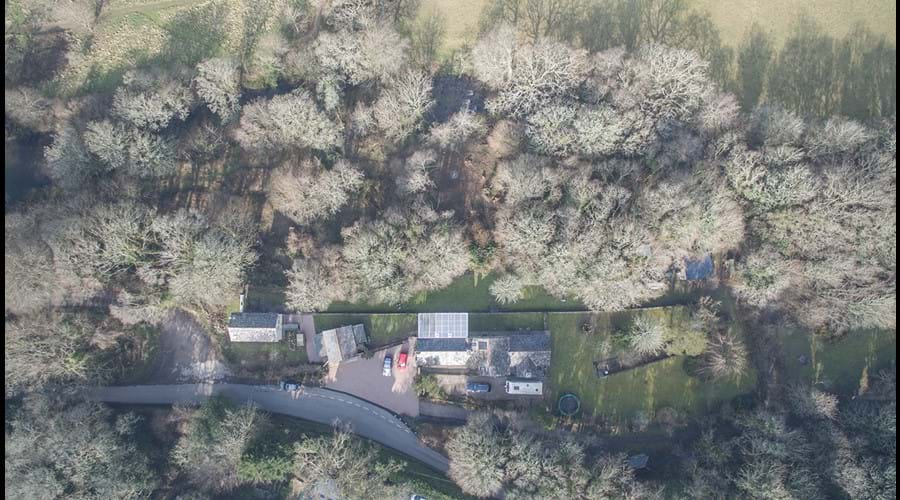 Loddiswell Station - viewed from above!