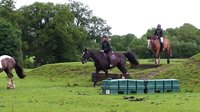 Having a great day horseriding nearby