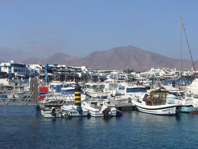 Playa Blanca port