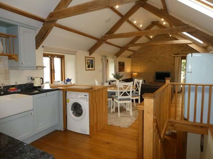 Kitchen through to Living Area