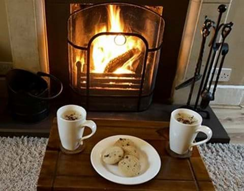 Relax with Open Fire - Moo Cow Cottage self catering