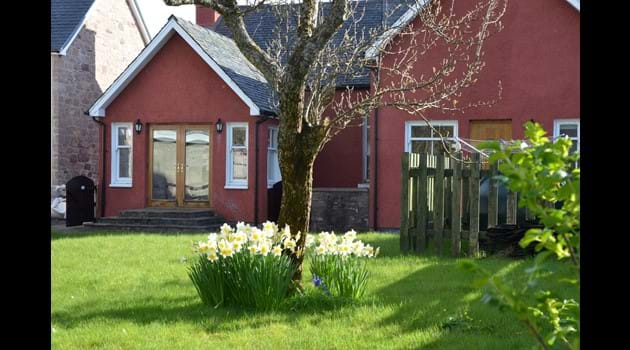 The Cottage - from back garden