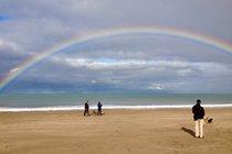 Somewhere under the rainbow, New Quay