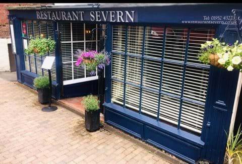 Restaurant Severn - A stone's throw away from the Iron Bridge