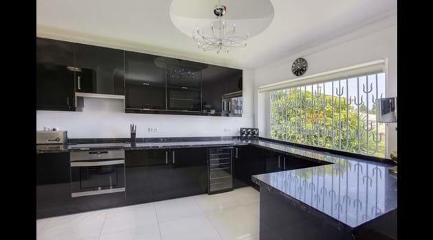 Palm Villa has 2 large fridges/1 large freezer/oven/hob/dishwasher