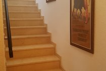 marble stairs to the bedrooms