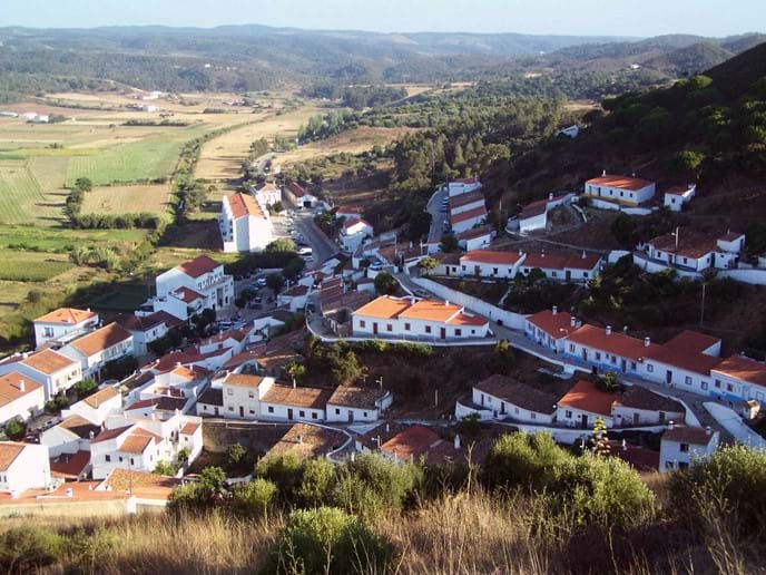 Aljezur - the nearest town to Casa Bela