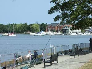 Nicolas Everitt park and Wherry Hotel - Oulton Broad