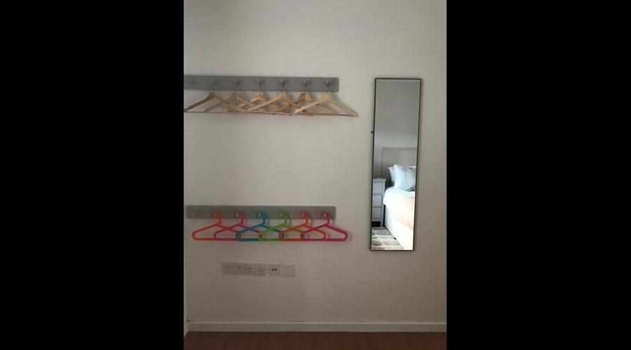 Twin bedroom wardrobe (downstairs)