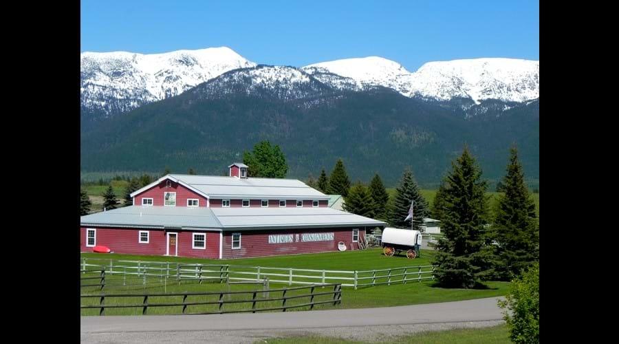The Red Barn Antiques, Bigfork