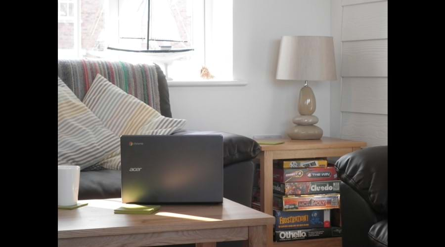 Laptop not included but Unlimited Wi-Fi and Games are !