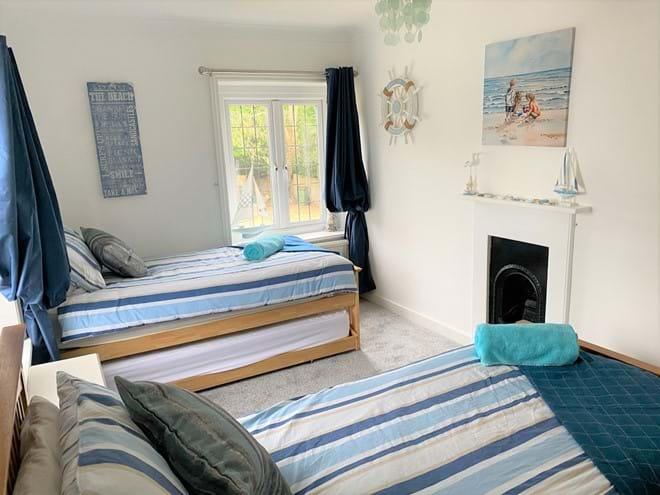 Bedroom 2, twin, tripple or kimgsized bed options