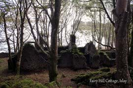Old ruins covered in moss (near Fairy Hill Cottage)