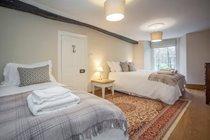 Bedroom 4 - King and single divan beds