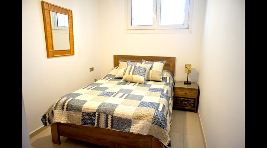 Bedroom 2, king (160x200) memory foam mattress