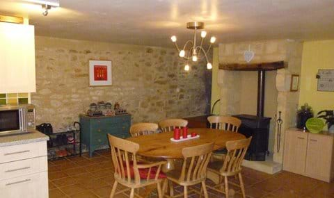 traditional stone farmhouse equipped or a holiday rent