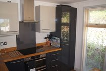 Bright and Well-Equipped Kitchen