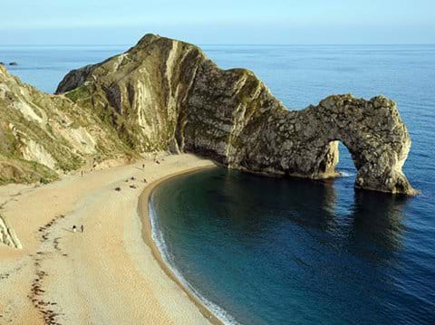 Durdle Door is just one of the local wonders of the Jurassic Coast