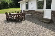 Outside BBQ and Dining Area