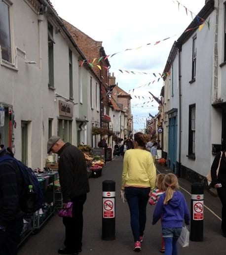 Wonderful local shops in Staithe Street