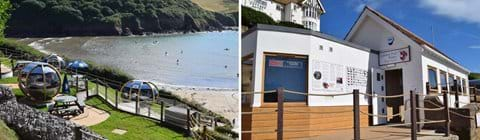 The Lobster Pod Bistro in Hope Cove