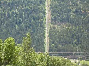 View across to the Kreuzeckbahn