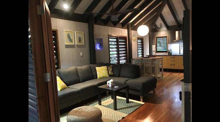 Spacious & beautifully decorated with a modern Fijian feel.