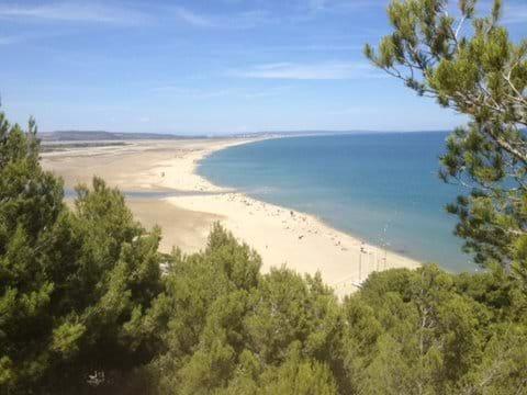 La Franqui beach